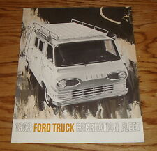 Original 1963 Ford Truck Recreation Fleet Sales Brochure 63