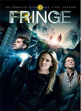 FRINGE - SEASON 5 - DVD - REGION 2 UK