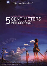 5 Centimeters Per Second, New DVDs