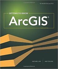 Getting to Know ArcGIS by( Michael Law , Amy Collins)  paperback  FREE SHIPPING
