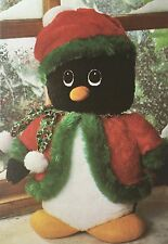 SEWING PATTERN Jean Greenhowe Penguin Doll Toy Jacket Hat Christmas Animal RARE