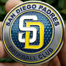 PREMIUM MLB San Diego Padres Poker Card Protector Collect Coin Golf Marker NEW