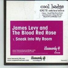 (CW128) James Levy & The Blood Red Rose, Sneak Into My Room - 2012 DJ CD