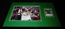 Jason Terry The Jet Signed Framed 11x17 Photo Display Celtics