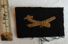 An Original Military WW2 R.A.F GLIDER PILOT Bullion Formation Cloth Badge (3197)