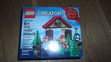 LIMITED EDITION NEW LEGO CREATOR 40082 CHRISTMAS TREE STAND CHRISTMAS 2013