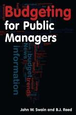 BUDGETING FOR PUBLIC MANAGERS - NEW PAPERBACK BOOK