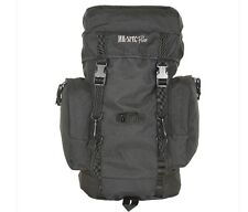 Military Style Tactical Black Gear Bag 25 Liter Day Pack Backpack Survival BOB