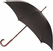 Fulton Kensington-1 Walking Length Long Umbrella Black