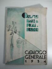 Oreste Bacci & Figli, Firenze. Vetrerie, chincaglierie, porcellane, Ginori