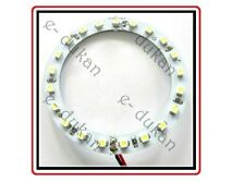 2 X Angel Eye 21 SMD, 80mm, 8 cm, Bright LED light for Cars Bikes- WHITE