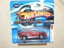 HOTWHEELS 1:64 2006 N°003 FIRST EDITION NISSAN SILVIA 515
