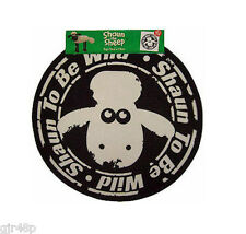 New SHAUN THE SHEEP Shaun To Be Wild Round Bedroom Floor Mat Rug Ideal Gift UK