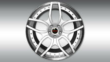 Novitec NL1 Silver Forged 3-piece Wheel and Tire Set - Lamborghini Huracan