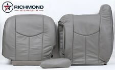 03 04 05 06 Tahoe -Driver Side Bottom, Lean Back & Armrest Leather Seat Covers