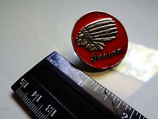 Vintage Indian Chief Motorcycle Pin Classic Factory Jacket Dealership Vest Badge