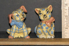 VINTAGE SET CAT AND DOG (CERAMICS A.S.) SALT AND PEPPER SHAKERS 5485X
