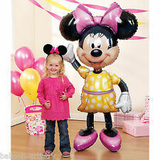 Disney MINNIE MOUSE Foil Supershape Airwalker Balloon