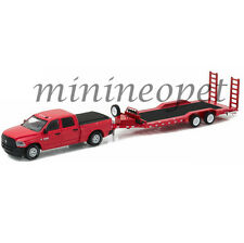 GREENLIGHT 32090 D 2016 DODGE RAM 2500 TRADESMAN & HEAVY DUTY CAR HAULER 1/64