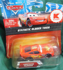 Disney Cars Diecast Kmart Exclusive LIGHTNING McQUEEN Synthetic RubberTires 2010