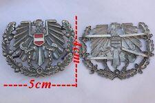 Insigne métal pour casquette Armée de Terre Autrichienne