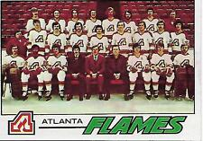 1977 Topps #71 Atlanta Flames team card, PRISTINE!