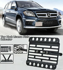 For 13-Up Benz X166 GL500 GL550 GL63 AMG Only Front Tow Hook Mount License Plate