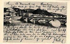 Wassmuth Hamburg HÜHNERAUGENRINGE Dankbare Kunden. Historische Reklame von 1899
