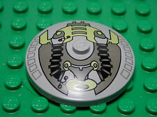 LEGO Inverted Dish 4x4 Life on Mars Pattern Light Gray 2001 7-12 3960 Boys Girls