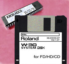 "ROLAND W-30 W30 SCSI Interface ""KW30"" HD/CD Upgrade Kit!"