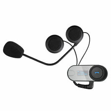 800M Bt Interphone Bluetooth Motorbike Bike Helmet Intercom Headset Comms