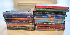 Disney DVD LOT 20 pixar classic movies - Toy Story, Frozen, Aladdin, Cinderella+
