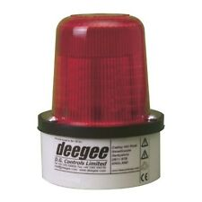 Deegee Pulsed Filament Beacon Lamp RED PSD/DC/24/B15D/ 102mm x 79mm IP65
