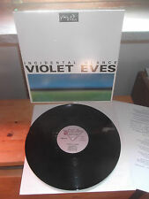 "VIOLET EVES ""Incidental Glance"" LP D.E.A. ITA 1985 - INSERT"