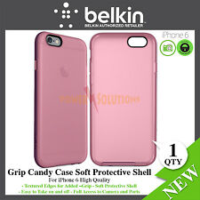 Belkin Grip Candy CE Case Soft Protective shell for iPhone 6 6s Pink NEW