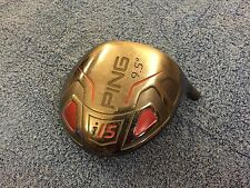 NICE Ping Golf i15 Titanium 9.5 DRIVER HEAD ONLY Right Handed RH Black Used Mens