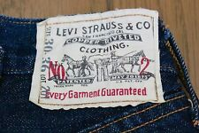 Levis 201 / 501 XX 1920 Selvedge Buckle Cinch Back LVC 555 Valencia USA 28x28