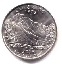 Colorado State Quarter 2006 P Coin Philadelphia Mint