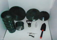 M4 Green Mini Gold Classifier Screen & Gold Pan Panning Kit