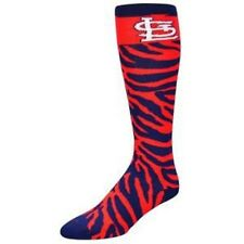 St. Louis Cardinals socks For Bare Feet MLB Safari Sock - Women's Size 6-11 NWT