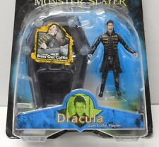 Van Helsing DRACULA Coffin Playset Monster Figure Hugh Jackman Jakks 2004 NIP