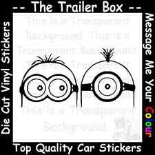 DESPICABLE ME 2 MINIONS Funny Car/Window JDM VW VAG EURO Vinyl Decal Sticker