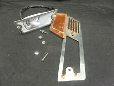 1985 HONDA GL1200A LEFT SIDE TURN SIGNAL & HARDWARE CHROME COVER TRIM