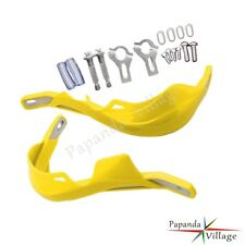 "Motorcycle 7/8"" Hand Guard Handguard Brush Bar Motocross Enduro Supermoto Yellow"