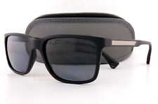 Brand New EMPORIO ARMANI Sunglasses 4047 5063/81 BLACK RUBBER/GRAY  Men