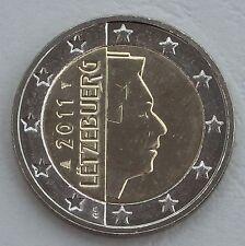 2 Euro Kursmünze Luxemburg 2011 unz