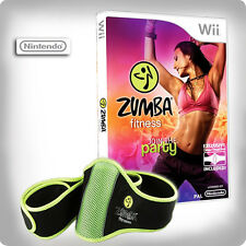 Zumba Fitness with Fitness Belt ~ Wii (in Great Condition)