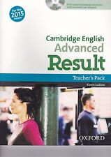 Oxford University Press CAMBRIDGE ENGLISH ADVANCED RESULT Teacher's Pack @NEW@