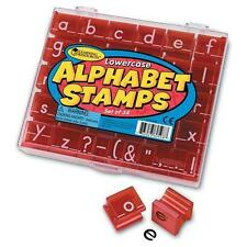 Learning Resources - Lowercase Alphabet & Punctuation Teacher Stamps & Case