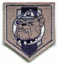 "GEORGETOWN HOYAS NCAA COLLEGE 3.25"" SHIELD LOGO PATCH"
